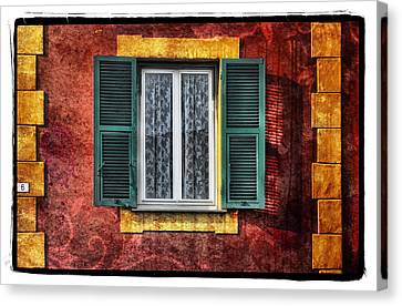 Red Wall Canvas Print by Mauro Celotti