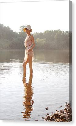 Reflection Canvas Print by Jessica Wilson