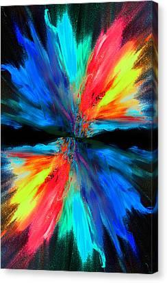 Reflection Canvas Print by Sumit Mehndiratta