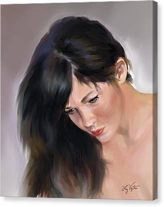 Reflections Canvas Print by Liz Viztes