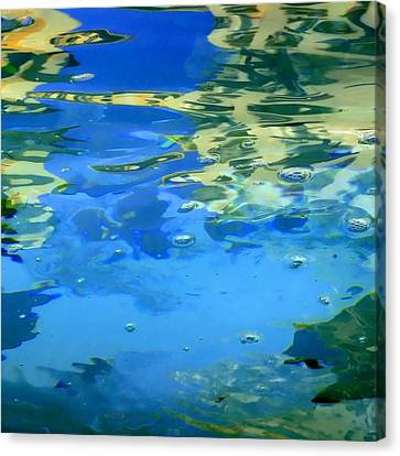 Reflections On Rome Canvas Print by Roberto Alamino