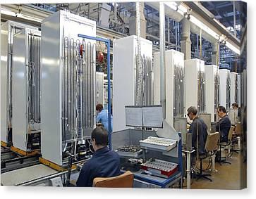 Refrigerator Factory Canvas Print by Ria Novosti