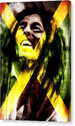 Reggae King Canvas Print by Andrea Barbieri