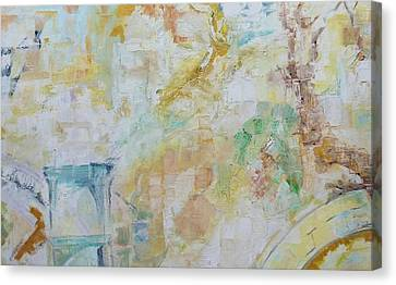 Remains Canvas Print by Ulla Heckel
