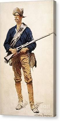 Remington: Soldier, 1901 Canvas Print by Granger