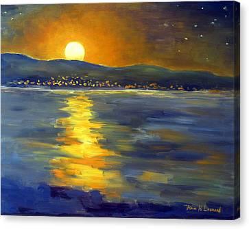 Return Of The Light Canvas Print by Karin  Leonard