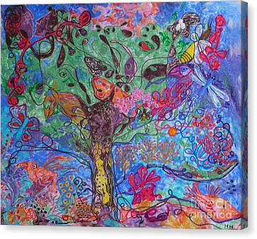Rhapsody Of Joy Canvas Print by Heather Hennick