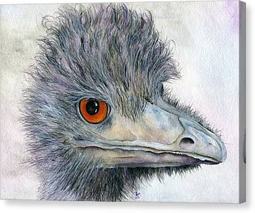 Rhea Canvas Print by Brandy Fenenga