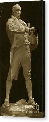 Richard Trevithick, English Inventor Canvas Print by Science Source
