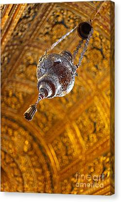Richly Decorated Ceiling Canvas Print by Gaspar Avila