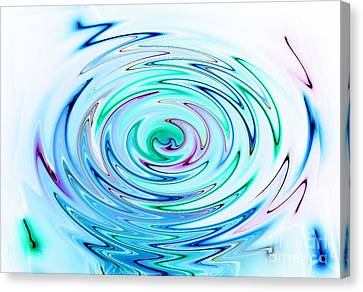 Ripple Canvas Print by Glimpses Prasad Datar-Archana Padhye Photography