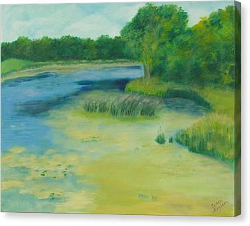 Ritter Farm Park Canvas Print by Susan Fuglem