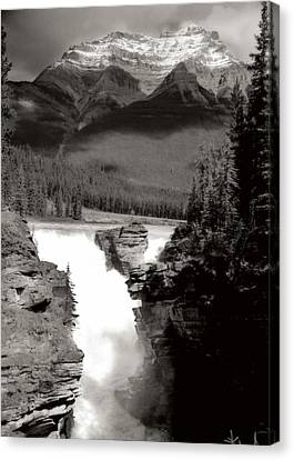 River Fall Part 1 Canvas Print by Marcin and Dawid Witukiewicz