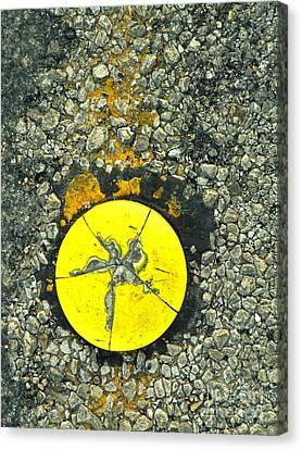 Road Urchin Canvas Print by Joe Jake Pratt