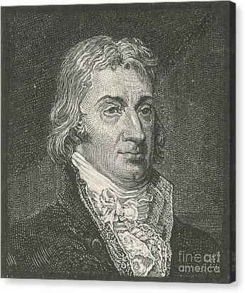 Robert R. Livingston, Politician Canvas Print by Photo Researchers