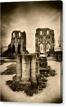 Roche Abbey Canvas Print by Simon Marsden
