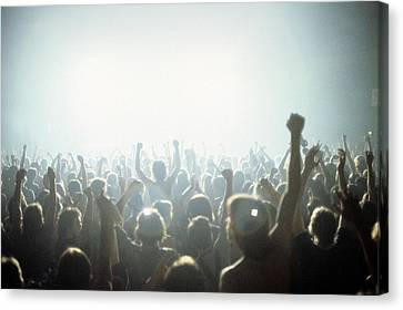 Rock Concert Canvas Print by Fin Costello