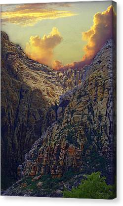 Rocky Canyon Canvas Print by Maria Eames
