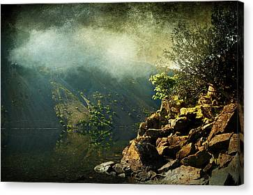 Rocky Hill Canvas Print by Svetlana Sewell