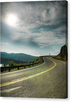 Rocky's Spillway Canvas Print by Ray Devlin