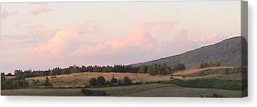 Rolling Hills Canvas Print by Rachel Snell