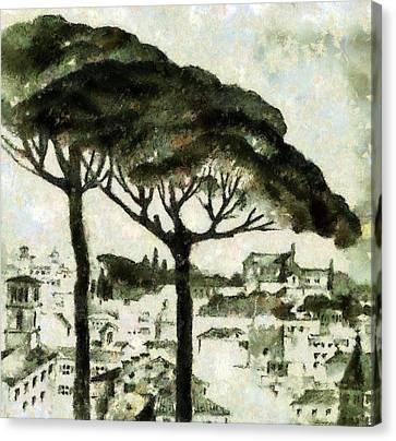 Rome Canvas Print by Odon Czintos