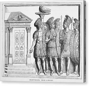 Rome: Praetorian Guards Canvas Print by Granger