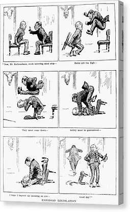 Roosevelt Cartoon, 1905 Canvas Print by Granger