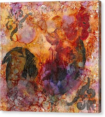 Rooster 1 Canvas Print by Rosie Phillips