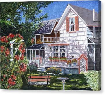 Rosa's Garden Canvas Print by Paul Gardner