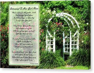 Rose Garden Canvas Print by Carolyn Marshall