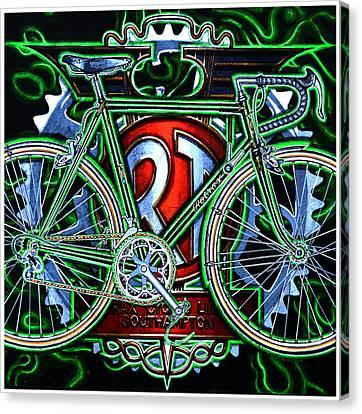 Rotrax Canvas Print by Mark Howard Jones