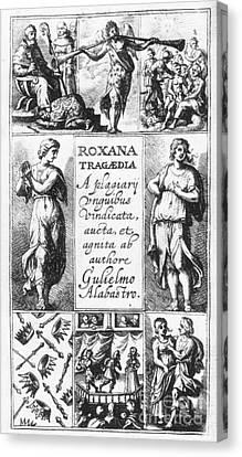 Roxana Tragaedia, 1632 Canvas Print by Granger