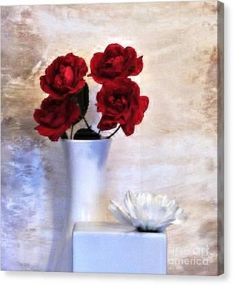 Royalty Roses Canvas Print by Marsha Heiken