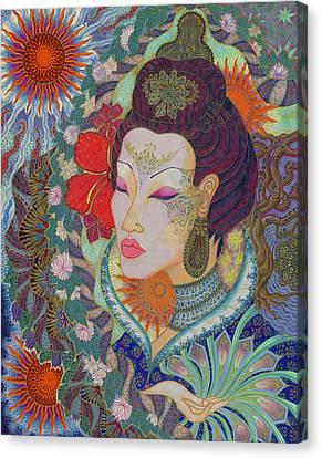 Ruhen Canvas Print by Ellie Perla