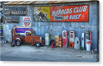 Rural America Canvas Print by Bob Christopher
