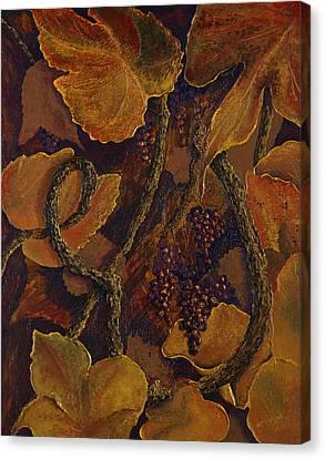 Rustic Harvest Canvas Print by Deborah Ellingwood