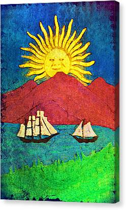 Safe Harbor Canvas Print by Bill Cannon