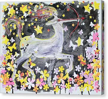 Sagittarius Canvas Print by Glenn Boyles