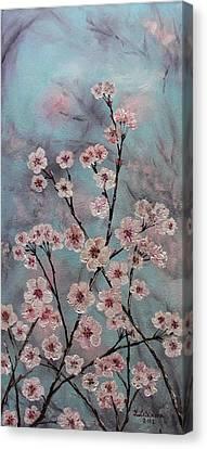 Sakura Canvas Print by Yulia Litvinova