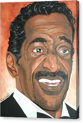 Sammy Davis Jr. Canvas Print by Timothe Winstead