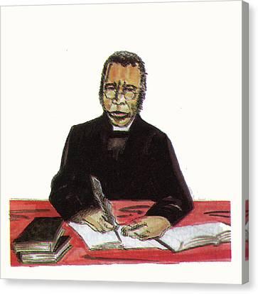 Samuel Ajayi Crowther Canvas Print by Emmanuel Baliyanga