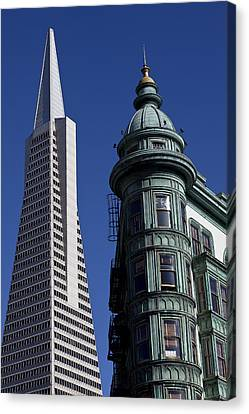 San Francisco Buildings Canvas Print by Garry Gay