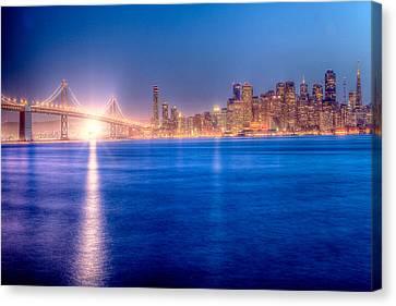 San Francisco Skyline Canvas Print by Ariane Moshayedi