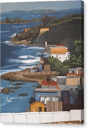 San Juan Canvas Print by Alexander Buck