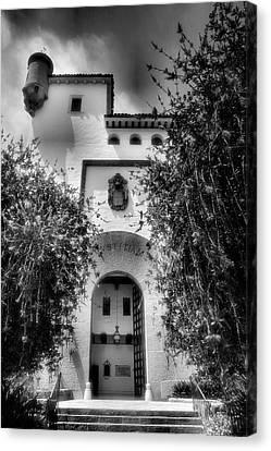 Santa Barbara Courthouse I Canvas Print by Steven Ainsworth