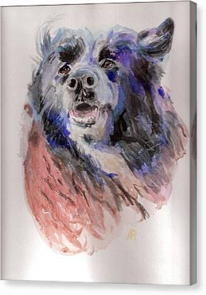 Sara Canvas Print by Arthur Rice