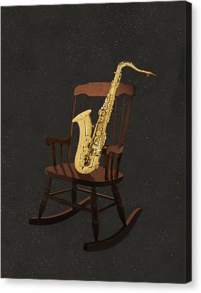 Sax Rocks Canvas Print by Eric Kempson