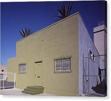 Scenes Of Los Angeles, A Nondescript Canvas Print by Everett