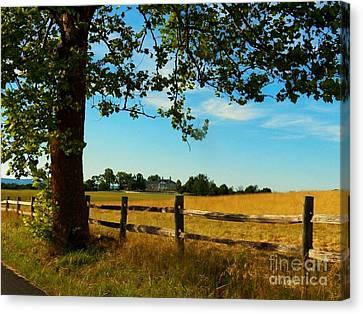 Scenic Belle Grove Plantation Canvas Print by Joyce Kimble Smith